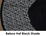 beboo hat black shade