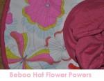 beboo hat flower powers