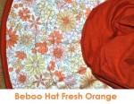 beboo hat fresh orange