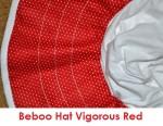 beboo hat vigorous red