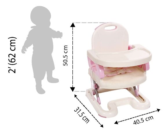 Mastelah Booster to Toddler Seat