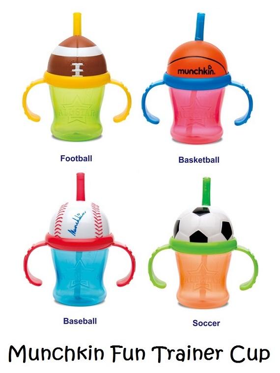 Munchkin 7oz Fun Trainer Cup Sport
