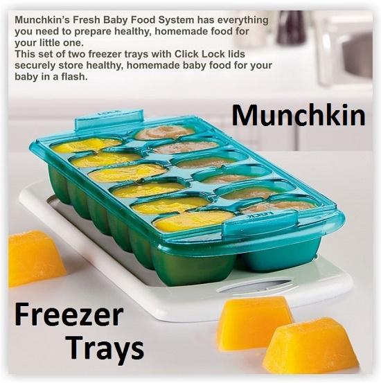 Munchkin Freezer Trays 1