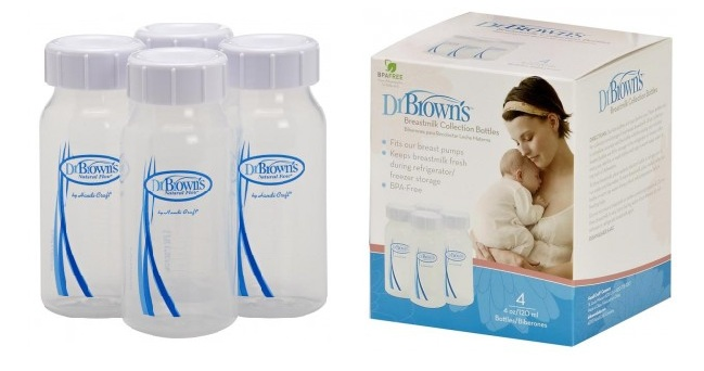 dr brown bmilk container
