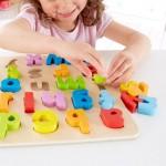 HAPE puzzle alphabet lowercase