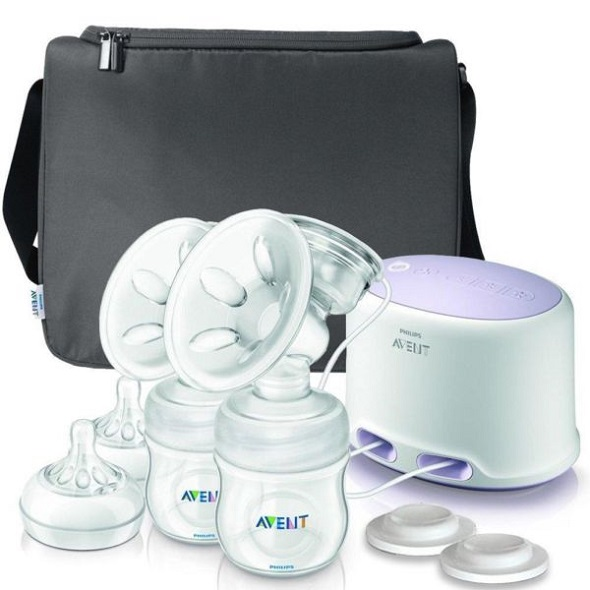 new avent comfort double electric breastpump paylessph ebay. Black Bedroom Furniture Sets. Home Design Ideas