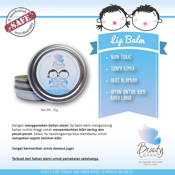 beauty barn LIP BALM