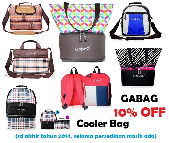 Gabag Cooler Bag Diskon 10 Persen