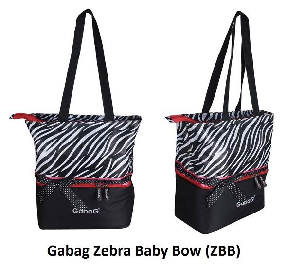 Gabag Zebra Baby Bow (ZBB)
