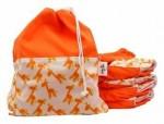 Contoh penggunaan Pempem Wet Bag