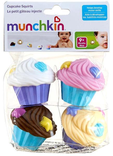 Munchkin Bath Toys, Cupcake Squirts