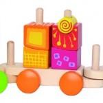 HAPE Toys Fantasia Blocks Train