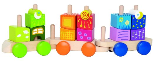 HAPE Toys Fantasia Blocks Train 1