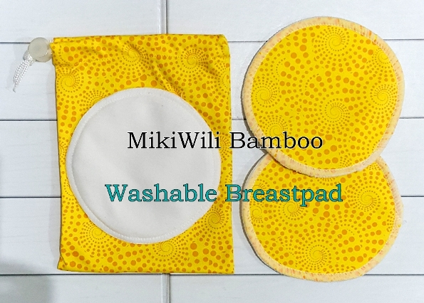 MikiWili Bamboo Breastpad Washable