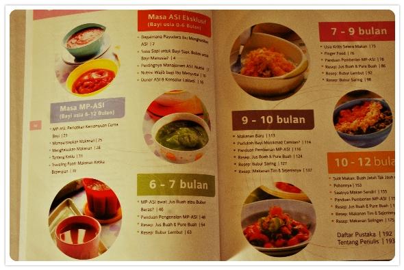buku super lengkap makanan bayi sehat alami - daftar isi