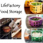 LifeFactory Glass Food Storage