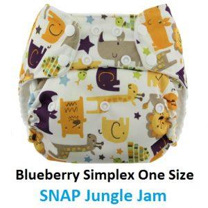 Blueberry Simplex OS Snap Jungle Jam
