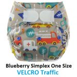 Blueberry Simplex OS Velcro Traffic