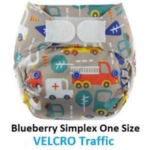 Blueberry Simplex OS Velcro Traffic