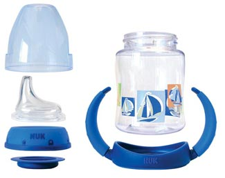Kelengkapan NUK Learner Bottle