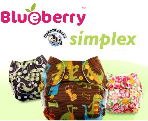 blueberry one size simplex all in one