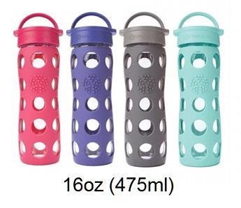 Lifefactory 16oz glass bottle