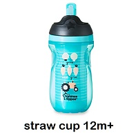 Tommee Tippee Straw Cup 12m+ thumb