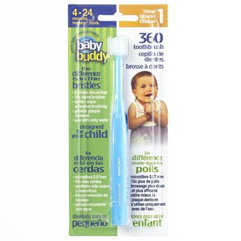 baby buddy 360 toothbrush step 1