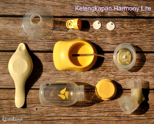 Kelengkapan Medela Harmony Light