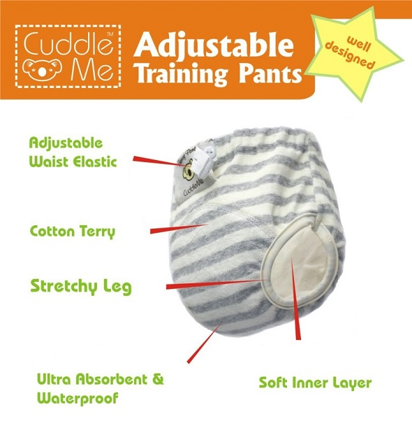 CuddleMe Adjustable Training Pants Cover