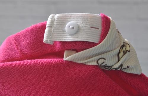 Bagian untuk mengatur ukuran celana agar pas di badan. Semakin ngepas dengan badan (press body) semakin meminimalisasi kebocoran.