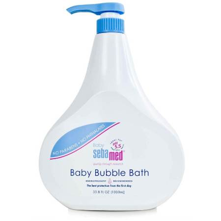sebamed baby bubble bath 1000ml