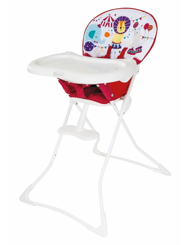 Graco high chair tea time circus