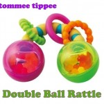 Tommee Tippee Double Rolling Ball Rattle