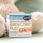 Maty's Baby Chest Rub, Balsam Bayi Batuk Pilek