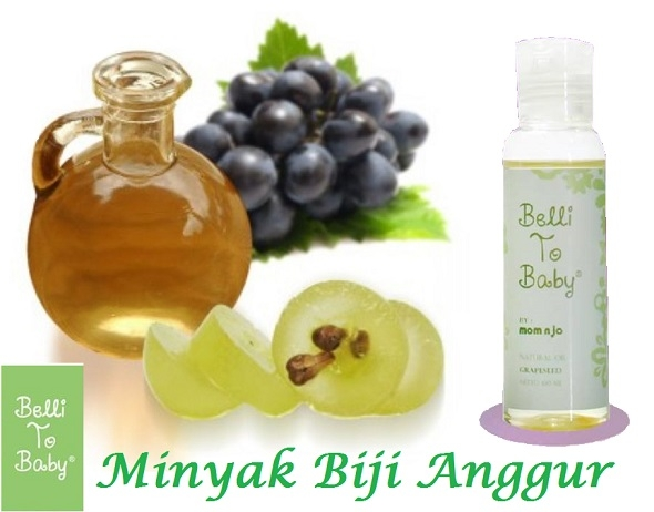 grapeseed oil dari belli to baby