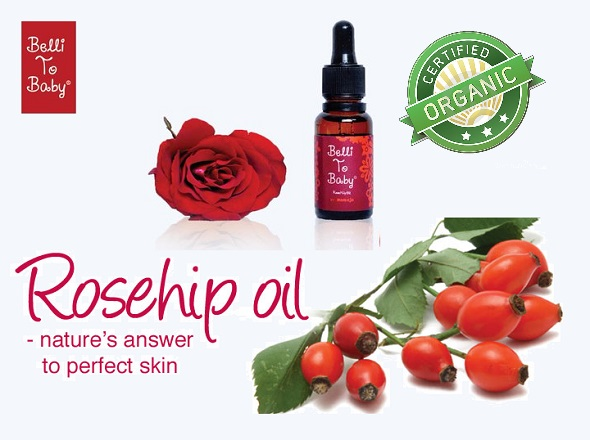 belli to baby organic rosehip oil