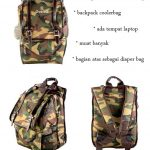 Gabag Calmo Army, Backpack Coolerbag