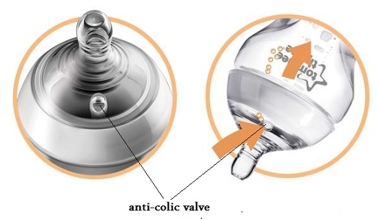 tommee tippee anticolic valve