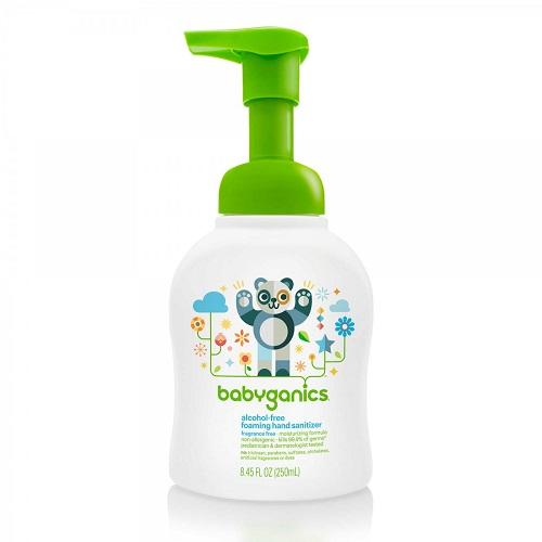BabyGanics Foaming Hand Sanitizer Fragrance Free