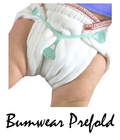 Bumwear Prefold in Use