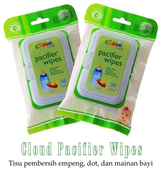 Cloud Pacifier Wipes, Tisu Pembersih empeng, dot, dan mainan bayi