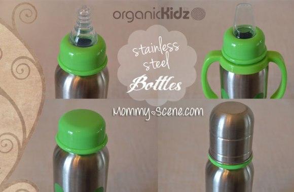 OrganicKidz Grows Up Set Narrow Neck Bottle 9oz - 2