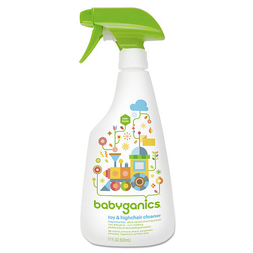 babyganics toy highchair cleaner 502ml