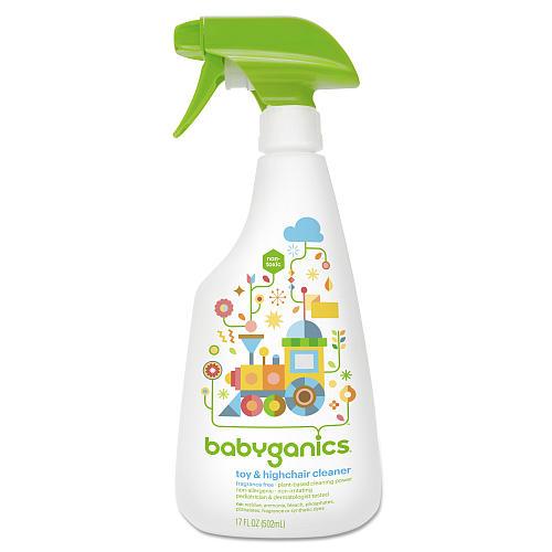 babyganics toy highchair cleaner 502ml