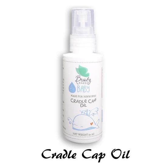 beauty barn baby cradle cap oil