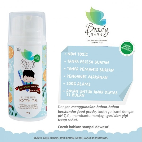 beauty barn tooth gel new