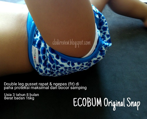 review clodi ecobum leg gusset