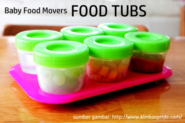 Baby Food Movers Food Tubs