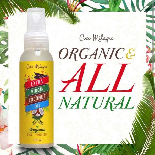 Coco Milagro Extra Virgin Coconut Oil